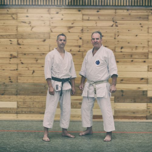 Sensei Mead und Ronald Fromm in Hamburg 2015